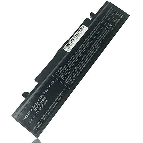 Ordinateur Portable Batterie pour SAMSUNG A-PB9NC6B AA-PB9NS6W AA-PB9NS6B NP300V5A R428 R505 R540 R720 R580 P510 R530 RV515 P530 Q430 R420 R480 RF510 RV510 [6 cellules 4400mAh] - 12 Mois Garantie