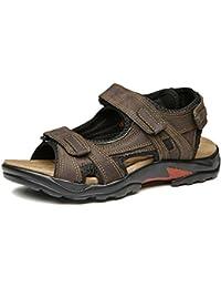 52a0828bf372 Homme Sandale Fermée Chaussure d affaire Ajourée A Enfiler Respirante  Pêcheur Sandales Ouvert pour Marche Plage · EUR 30