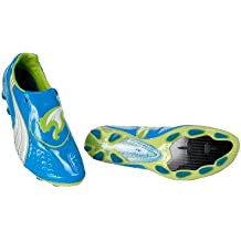 V1.11 FG Football Boots Dresden Blue/White/Lime Punch