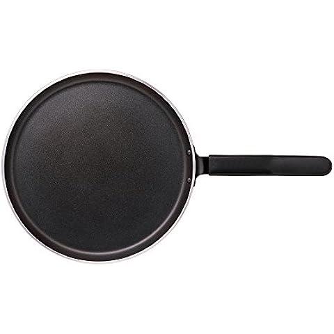 Nirali crepe 26cm/pancake/flatbread/dosa / chapatti Teflon Platinum metal-cuchara amable pan antiadherente,