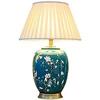 505 HZB Sala de Estar Europea, lámpara de Mesa de cerámica, lámpara de Sala