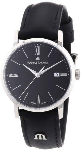 Maurice Lacroix Damen-Armbanduhr XS Eliros Analog Quarz Leder EL1084-SS001-310