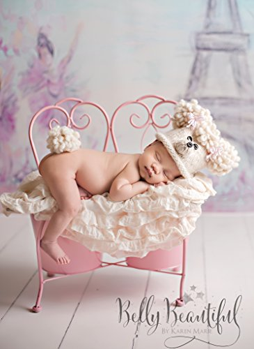 Poodle Babe Knit Hat Pattern - All Sizes Newborn Baby through Child 3-10 Years Included (English Edition) Babe Hat