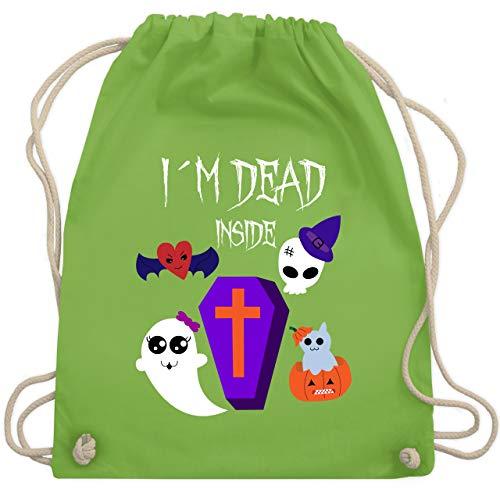 Halloween - I'm dead inside - Unisize - Hellgrün - WM110 - Turnbeutel & Gym ()