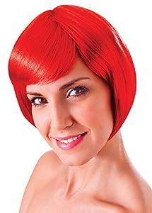 Bristol Novelty bw859Flick insolencia peluca, Rubio, un tamaño