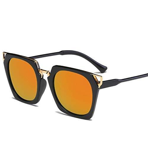 Young shinee Sportbrillen Platz Sonnenbrille Frauen männer Fahren 2017 männliche luxusmarke Sonnenbrille für Frauen Designer cool Shades Spiegel Retro (Farbe : JH15709 C5)