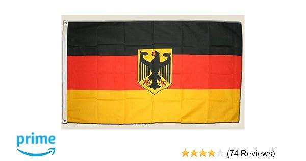 Deutschland Fahne Flagge Nationalflagge Fussball EM WM Fahne 90x150cm mit Ösen