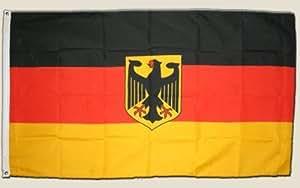 Flagge Deutschland mit Adler – 90 x 150 cm