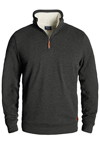BLEND Tedius - Sweat-Shirt- Homme Charcoal (70818)