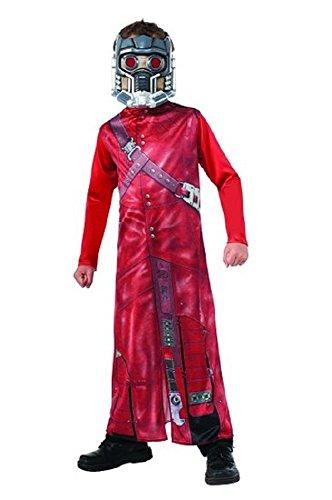 Guardians of The Galaxy Star Herr, Full Halloween-Kostüm + Maske–Mittel 8–10