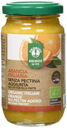 Probios Composta Bio di Arancia Senza Pectina Aggiunta - Confezione da 6 x 220 g