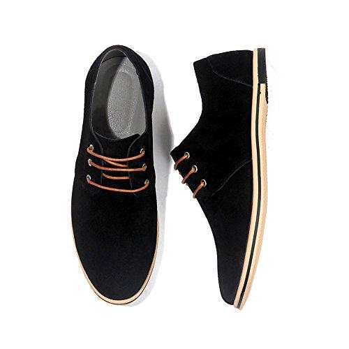 NXY Herren Beiläufig Leder Oxford Schuhe Schnüren Brogues Wohnungen Formal Business Schuhe - Kleid Valentinstag-formale