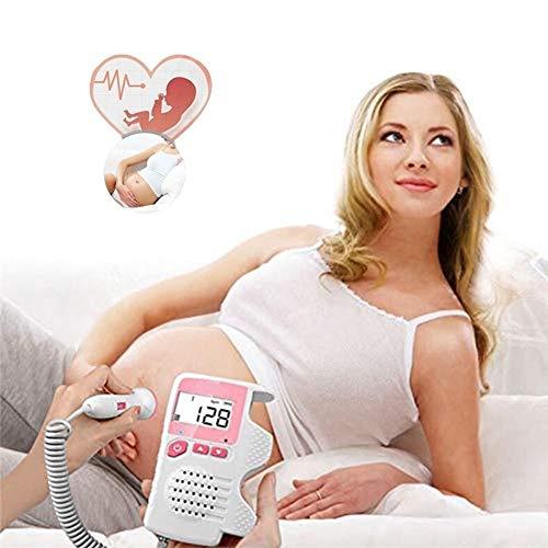 Herz-Monitor schwangere Frauen mit Doppler-Baby zu keiner Strahlung, die fötales beschleunigtes Herz-Vormundschafts-Stethoskop misst -