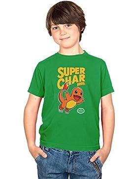 NERDO - Super Char Bros. - Kinder T-Shirt