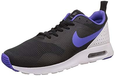 Nike Air Max Tavas, Chaussures de Running Homme, Multicolore (Black/Persian Violet-White), 40 EU