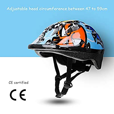 Zacro CE Certificated Bike Bicycle Skate Helmet for Multi-Sports Scooter Skater Bmx Cycling by Zacro