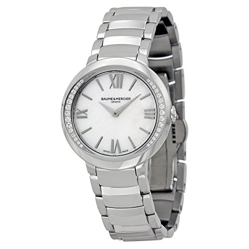 Baume & Mercier Promessa Diamond White Mother of Pearl Quartz Women's Watch MOA10160