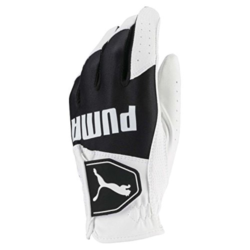 Puma Golf-Handschuhe für Kinder der 2018er Reihe(in den Puma-Farben weiß und schwarz, Größe M)