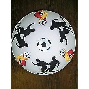 Deckenleuchte/Wandlampe * Fußball 1 * auch LED - mit/ohne Name
