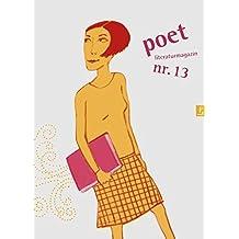 poet nr. 13: Literaturmagazin