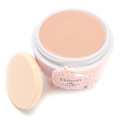 EgBert Fond De Teint Crème Anti-Cernes Bb Makeup Cosmetics Crème Amorce Anti-Imperfections Avec Bouffée - Couleur De La Peau