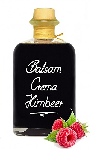 Balsamico Creme Himbeer 1L 3% Säure Mit original Crema di Aceto Balsamico di Modena IGP.