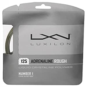 Luxilon Adrenaline 125 16L Tennis String Set Review 2018 from Wilson