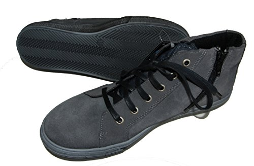 Däumling Kinderschuhe, hohe Schuhe, Sneaker, Lederschuhe grau (Turino smokd pearl)