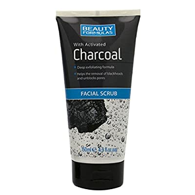 Beauty Formulas Charcoal Facial Scrub, 150 ml from Beauty Formulas
