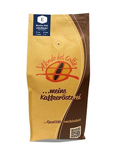 Mexiko SHG Quellwasser entkoffeiniert Espresso 1 kg (1000 g) ganze Bohne