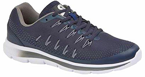 Zapatillas Deportivas Dek Para Hombre Azul Marino / Gris