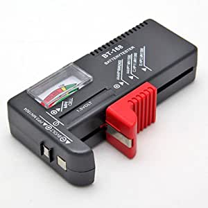 batterietester universal 1 5v 9v aa mignon micro aaa elektronik. Black Bedroom Furniture Sets. Home Design Ideas