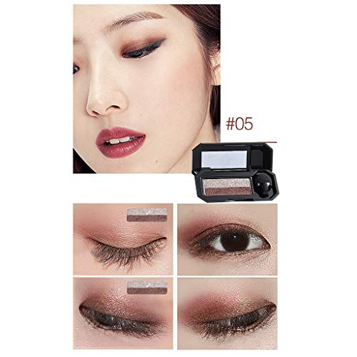 Make-up Lidschatten Lidschatten Palette Kosmetik Set Lidschatten 2 Farben YunYoud Sexy zweifarbiger Siegelaugenschatten