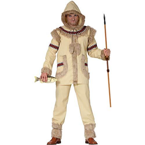 Krause & Sohn Herren Kostüm Eskimo Inuksuk Inuit Fasching Karneval ()