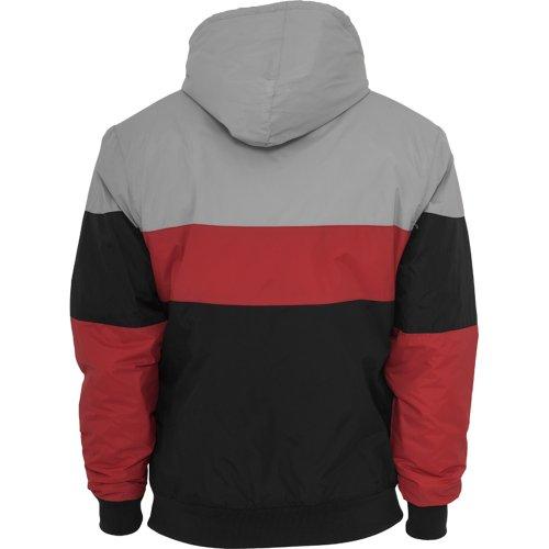 Tricolor Nylon Jacket Black