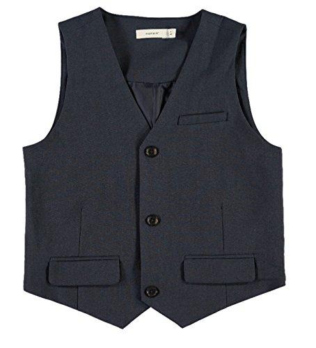 Name it Jungen Anzug-Weste dunkelblau NKMIngemann, Größe:152, Farbe:dark sapphire