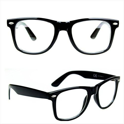 Occhiali da vista non graduati ray nerd riposanti for Amazon occhiali da vista