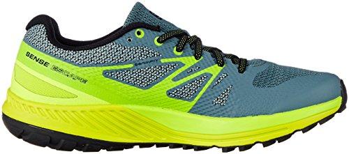 Salomon Sense Escape Scarpa Trail Running grigio fluorescente verde