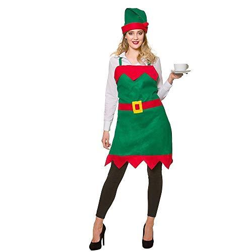 Seemeinthat SMIT Elf apron Santa's Helper Christmas ()