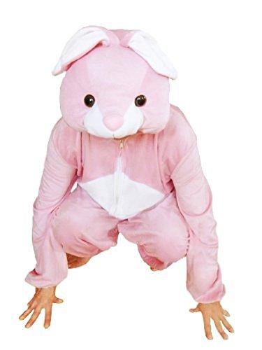 Hasen-Kostüm, J02 Gr. XL, Für hoch gewachsene Männer und Frauen! Hase Karnevalskostüm, Hasen-Kostüme für Fasching Karneval, als Karnevals- Fasnachts-Kostüm, Tier-Kostüme Faschings-Kostüme (Hase Kostüm Mann)