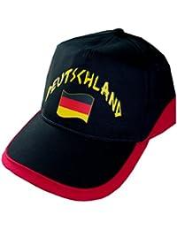 Supportershop Allemagne Drapeau de Nation avec 2 Oeillets Métalliques Homme