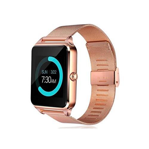 Kuerli Smartwatch Fitness Uhr Intelligente Armbanduhr Bluetooth Smart Watch Fitness Tracker Sport Uhr mit Kamera Schrittzähler Schlaftracker Romte Capture Kompatibel mit iPhone Android Handy