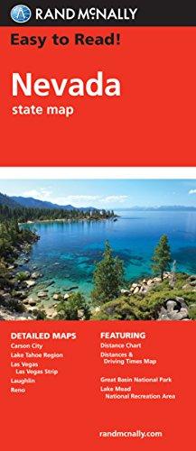 Descargar Libro Rand McNally Nevada: State Map de Rand McNally and Company