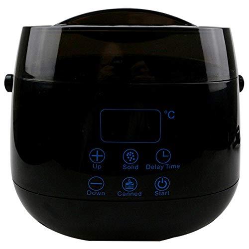 RETYLY MáQuina Terapia Cera Del Monitor LCD Olla Calentador CalefaccióN Frijol Herramienta EliminacióN...