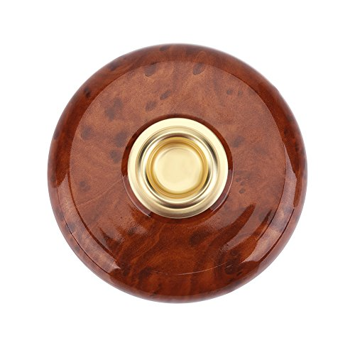 Violoncello tappeto portatile antiscivolo coccolo supporto per il supporto del puntale con accessorio occhio di metallo(marrone)