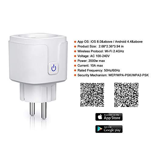 Une prise intelligente pour gérer au mieux vos appareils électriques - 41gkx5 2Be0YL - Une prise intelligente pour gérer au mieux vos appareils électriques
