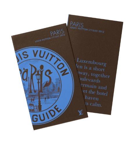 Louis Vuitton Paris - City Guide 2012, Version Anglaise