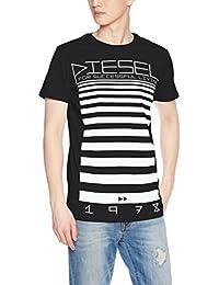 Diesel - T-shirt - Manches Courtes - Homme noir noir