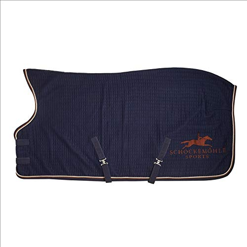 Schockemöhle Abschwitzdecke Sports Premium nachtbl Größe/Farbe 155cm / Nachtblau
