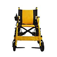 Cww Electric Wheelchair Elderly Foldable Portable Portable Wheelchair Vehicle Automatic Elderly Scooter